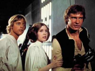 Звездные войны - три героя